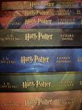 Pile of Harry Potter books in Polish