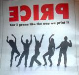 Ad for print shop in a newspaper
