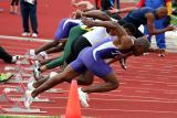 Guys sprinting