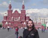David na Placu Czerwonym